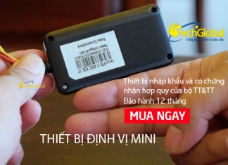 Thiết bị định vị GPS mini