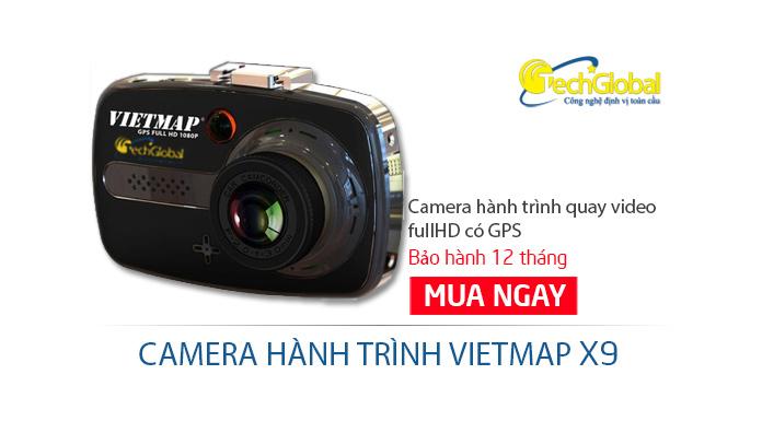Thiết bị camera hành trình X9 có GPS chất lượng cao