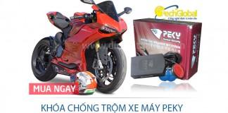 Khóa chống trộm xe máy Pekey