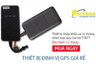 Thiết bị định vị GPS giá rẻ