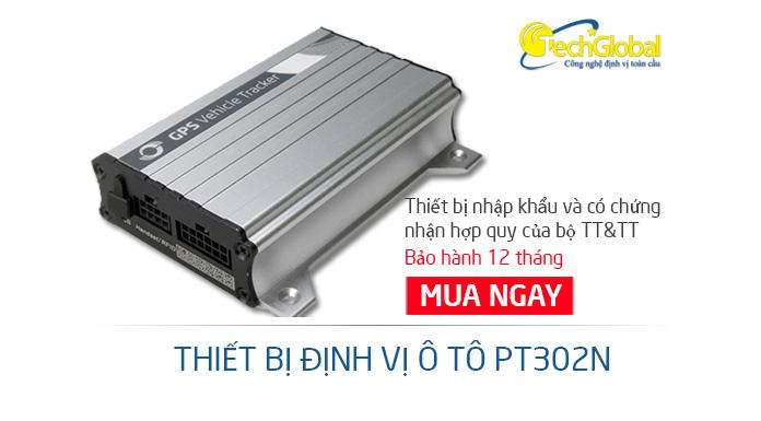 Thiết bị định vị ô tô PT302N giá rẻ chất lượng tốt cho tất cả các dòng xe ô tô