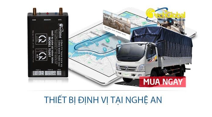 Lắp thiết bị định vị tại Nghệ An