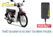 Thiết bị định vị xe máy tại Bình Thuận