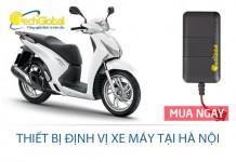 Thiết bị định vị xe máy tại Hà Nội