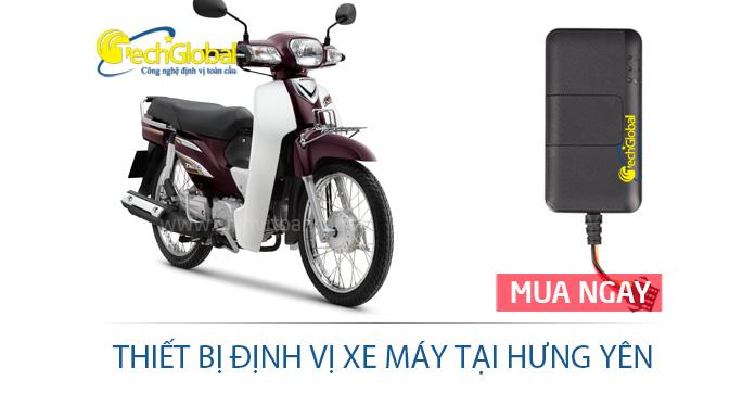 Thiết bị định vị xe máy tại Hưng Yên