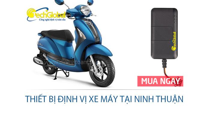 Thiết bị định vị xe máy tại Ninh Thuận