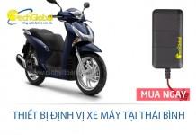 Thiết bị định vị xe máy tại Thái Bình