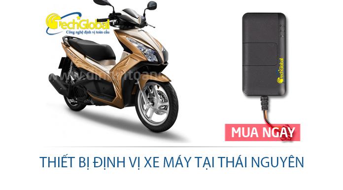 Thiết bị định vị xe máy tại Thái Nguyên