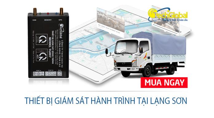 Thiết bị giám sát hành trình tại Lạng Sơn dành cho xe ô tô, xe tải