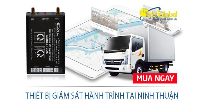 Thiết bị giám sát hành trình tại Ninh Thuận