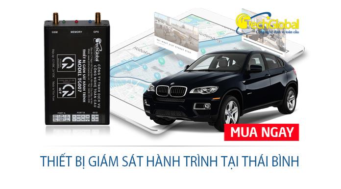 Thiết bị giám sát hành trình tại Thái Bình theo chuẩn Bộ GTVT quy định