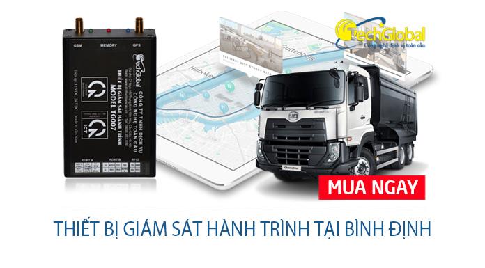 Lắp thiết bị giám sát hành trình tại Bình Định chuẩn Bộ GTVT