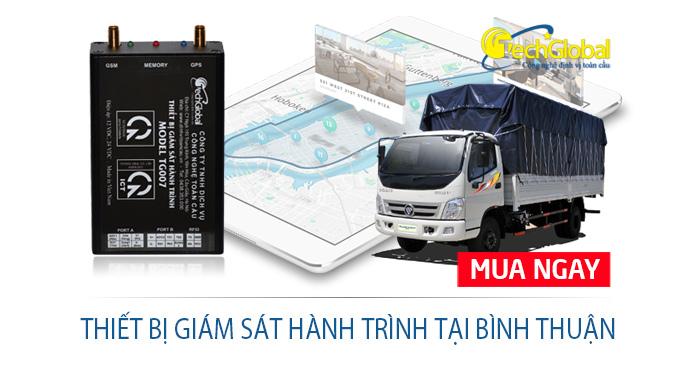 Lắp thiết bị giám sát hành trình tại Bình Thuận theo chuẩn Nhà nước quy định
