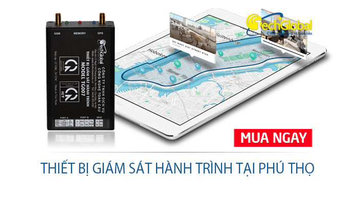 Lắp thiết bị giám sát hành trình tại Phú Thọ hợp chuẩn BGTVT