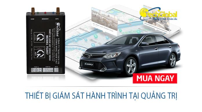 Lắp thiết bị giám sát hành trình tại Quảng Trị cho xe đi đăng kiểm xe