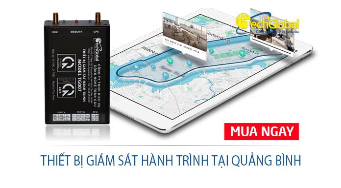 Gắn thiết bị giám sát hành trình tại Quảng Bình siêu rẻ bởi Techglobal