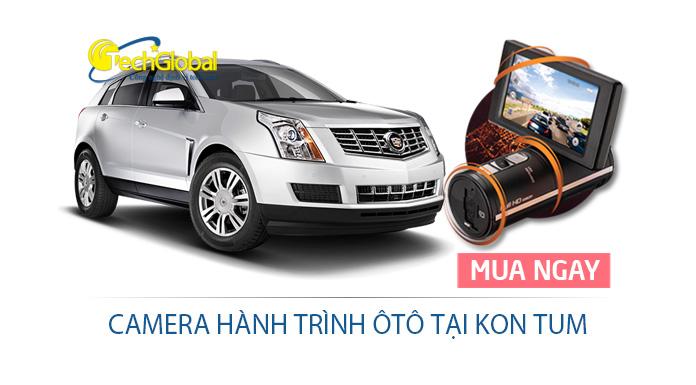 Lắp thiết bị camera hành trình ôtô tại Kon Tum giá rẻ, chất lượng cao