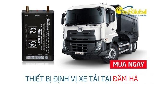 Lắp định vị xe tải tại Đầm Hà Quảng Ninh chất lượng tốt