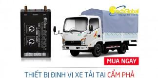 Lắp định vị xe tải tại Cẩm Phả Quảng Ninh