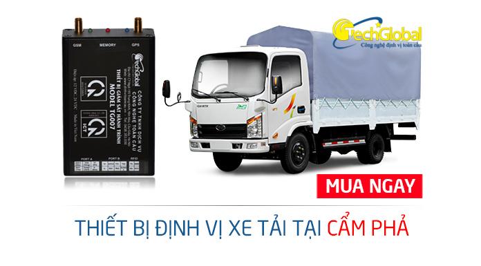 Techglobal chuyên lắp định vị xe tải tại Cẩm Phả Quảng Ninh chất lượng cao