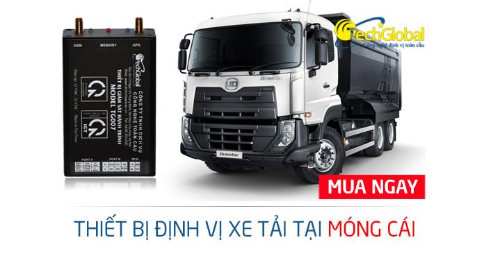 Lắp định vị xe tải tại Móng Cái Quảng Ninh chính hãng tại Techglobal