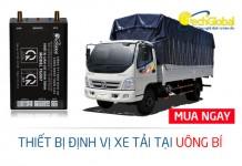 Lắp định vị xe tải tại Uông Bí Quảng Ninh