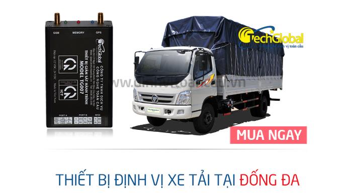 Lắp định vị xe tải tại Đống Đa chính hãng giá rẻ