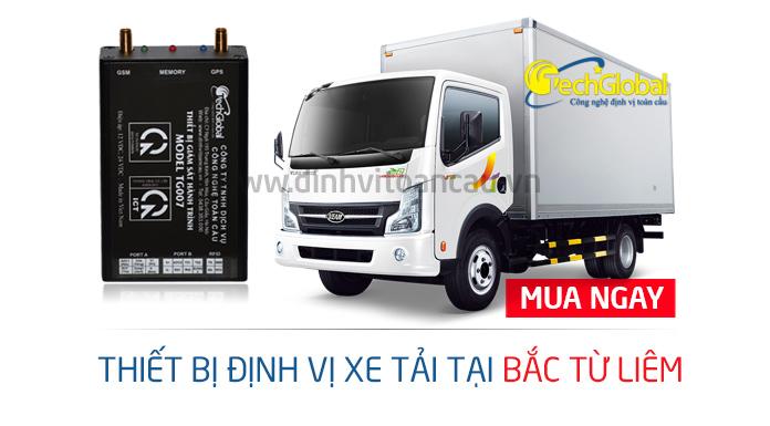 Lắp định vị xe tải tại Bắc Từ Liêm giá rẻ nhất trên thị trường