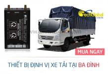 Lắp định vị xe tải tại Ba Đình