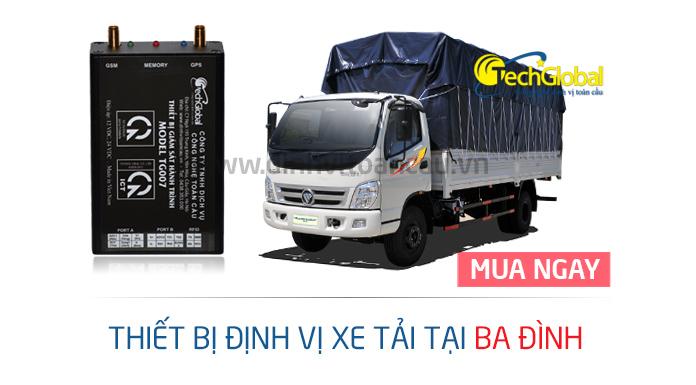 Lắp định vị xe tải tại Ba Đình chất lượng tốt nhất