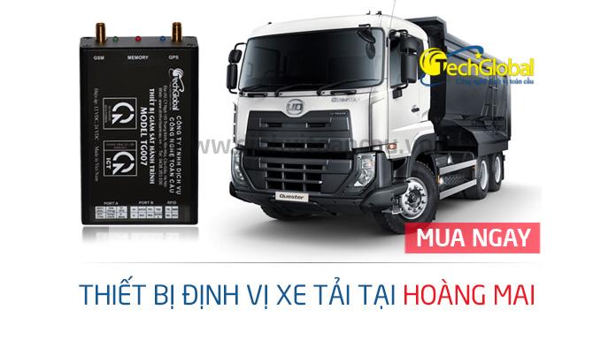 Techglobal địa chỉ uy tín chuyên lắp định vị xe tải tại Hoàng Mai
