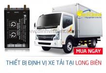 Lắp định vị xe tải tại Long Biên