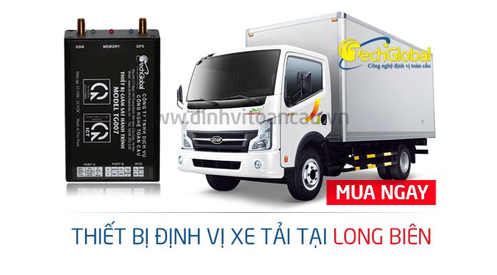 Techglobal địa chỉ lắp định vị xe tải tại Long Biên