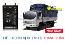 Lắp định vị xe tải tại Thanh Xuân