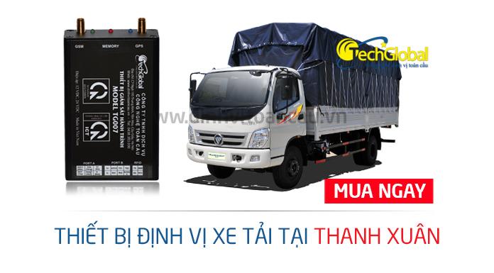 Lắp định vị xe tải tại Thanh Xuân chính hãng